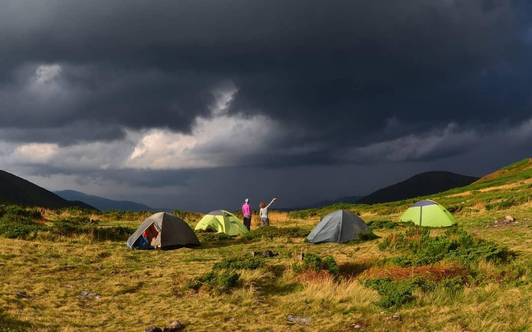 Camping in the Rain Hacks